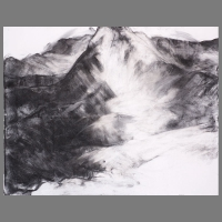 bergen-IV-90x75cm-houtskool-acryl-op-linnen