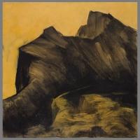 bergen-IX-105x110cm-houtskool-acryl-chuncy-charcoal-op-linnen