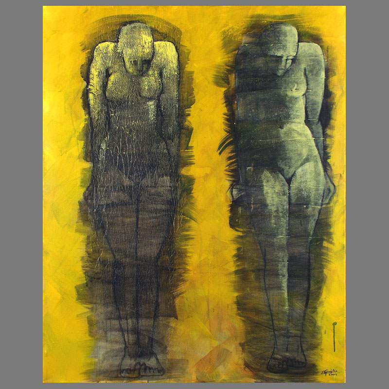 twee-karyathiden-100x125-acryl-op-linnen