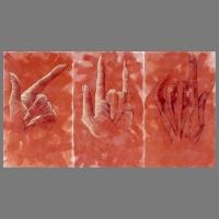 Hands-375-296cm-acryl_pastel_houtskool_linnen