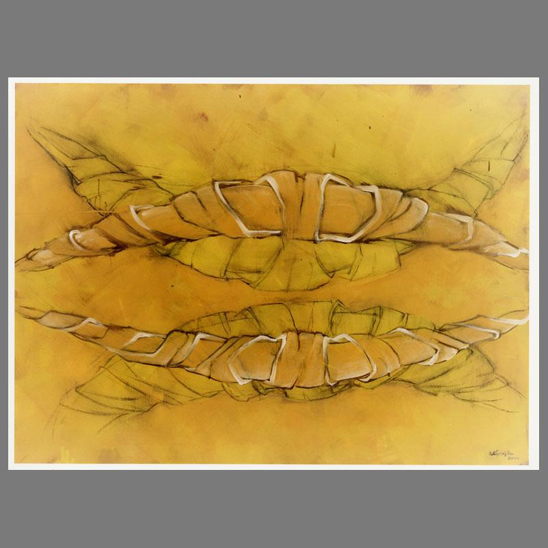 Gebogen-plantenvorm-I